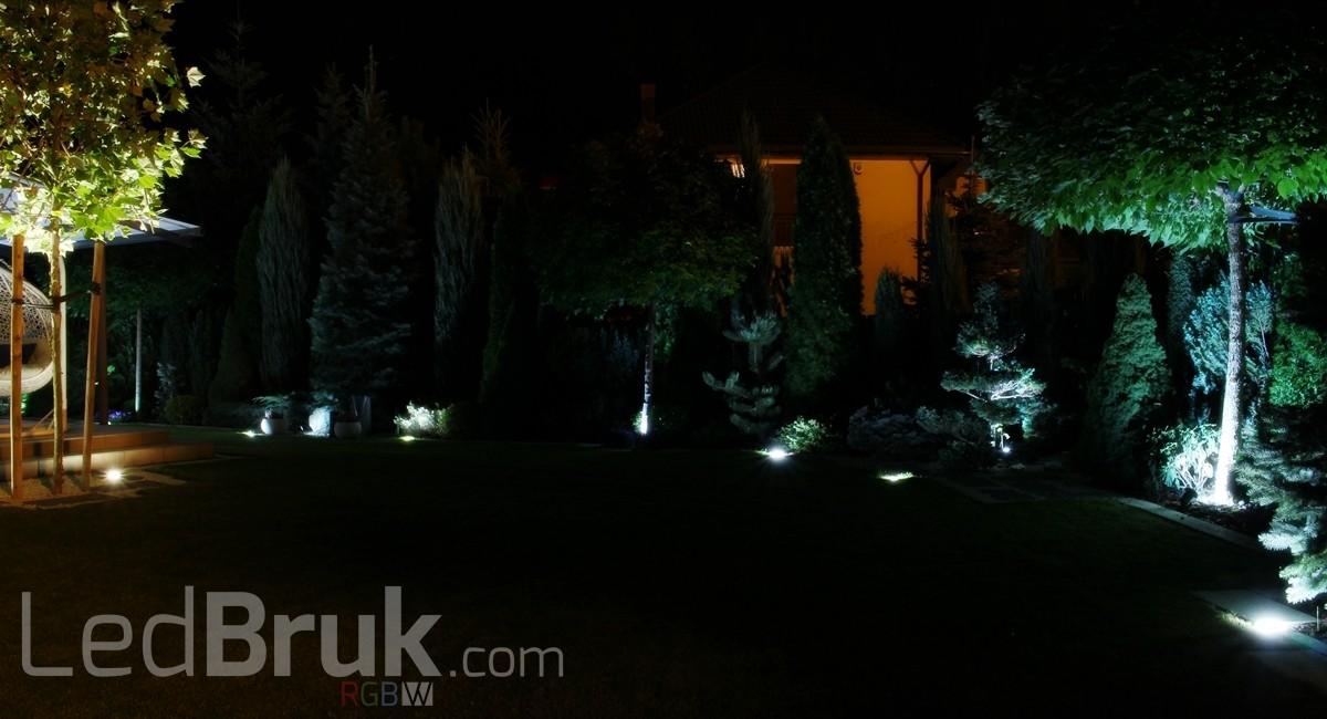 świecąca kostka brukowa LedBruk oprawa najazdowa LED