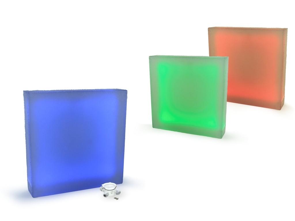 świecąca płyta brukowa chodnikowa 40x40 LedBruk LED 24V